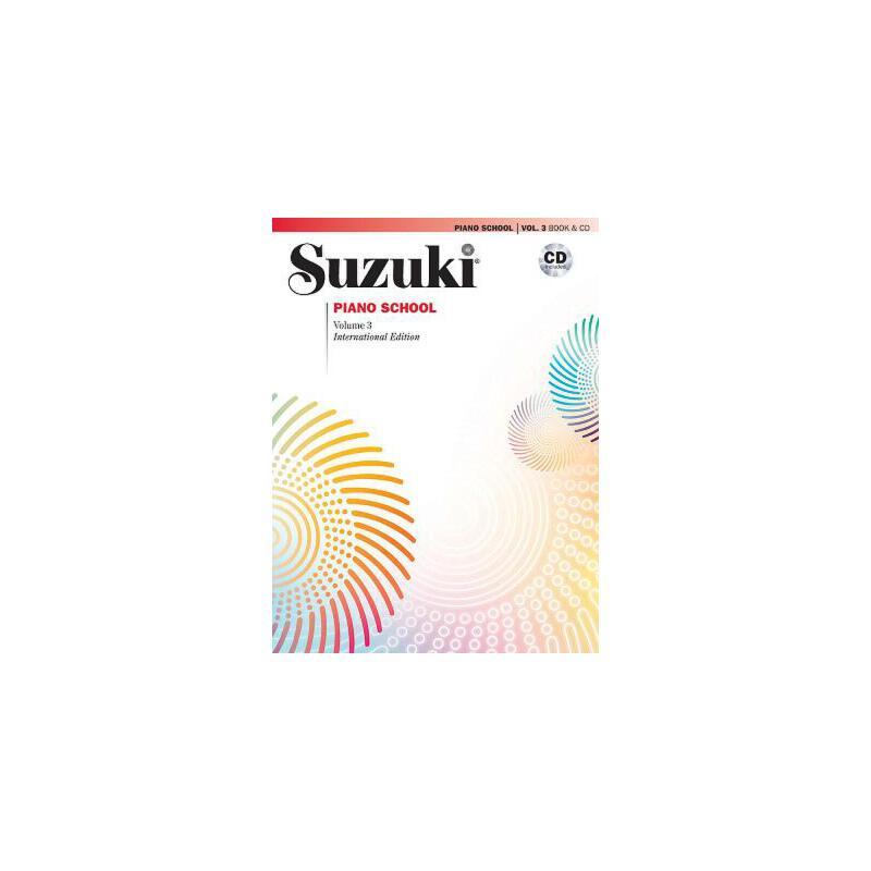 【预订】Suzuki Piano School, Vol 3: Book & CD 预订商品,需要1-3个月发货,非质量问题不接受退换货。