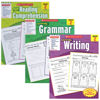 【二年级3册】学乐成功系列 Scholastic Success Grade 2 Grammar/Writing/Re