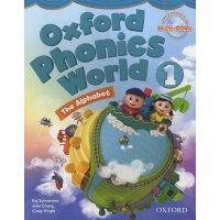Oxford Phonics World: Level 1: Student Book with MultiROM【英
