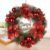 圣诞节装饰品 圣诞花环 装饰挂件门挂门饰商场店面装饰品布置