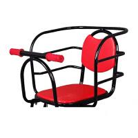 自行车儿童座椅 电动车后置加大座椅山地车折叠车大护栏单车靠背小孩宝宝全围安全带