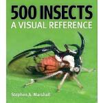 【预订】500 Insects: A Visual Reference