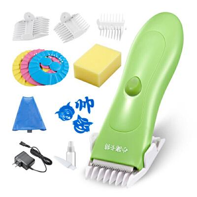 婴儿理发器儿童静音电推剪小孩防水充电宝宝陶瓷剃头刀 X5+理发套装j12 偏远地区发货受限制,具体地区请咨询在线客服