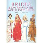 【预订】Brides from Around the World Paper Dolls