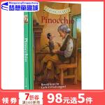 英文原版 Classic Starts:Pinocchio 木偶奇遇记 匹诺曹 专门为孩子编的名著读本 精装 小说