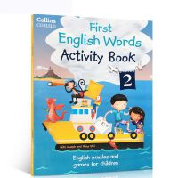 英文原版 Activity Book 2 (Collins First English Words) 柯林斯英语单词书