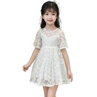 女童夏装连衣裙2018夏季新款儿童装裙子中大童女孩蕾丝公主裙