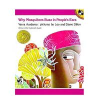 【全店300减100】英文原版绘本 1976年凯迪克金奖作品 原版进口 Why Mosquitoes Buzz in P