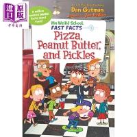 【中商原版】我的歪歪学校真实百科:食物的组成My Weird School Fast Facts 儿童科普 歪歪路 插图