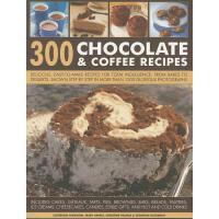 【预订】300 Chocolate & Coffee Recipes: Delicious