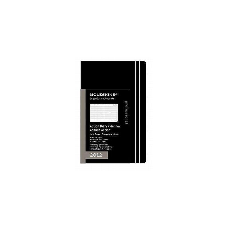 【预订】Moleskine Professional Action Extra Large Black 美国库房发货,通常付款后3-5周到货!