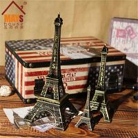 巴黎埃菲尔铁塔模型家居摆件 道具生日礼物礼品