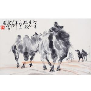 A451黄胄《骆驼》
