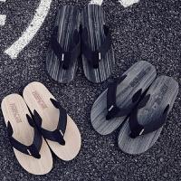 人字拖男夏休闲凉拖防滑韩版个性新款凉鞋沙滩鞋室外潮拖鞋男