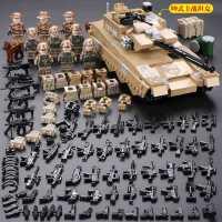 乐高军事坦克装甲车飞机特种兵人仔男孩子益智力拼装积木儿童玩具