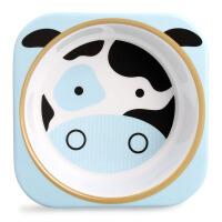 美国进口Skip Hop宝宝碗 儿童动物总动员仿瓷餐具幼儿餐碗单个装