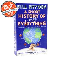 万物简史 英文原版 A Short History of Nearly Everything 比尔布莱森 人类未来 简史类科普读物 Bill Bryson 罗辑思维