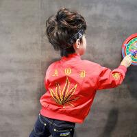 童装男童外套春装2018新款儿童韩版棒球服宝宝上衣潮