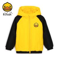 【2件25折:172.25元】B.duck小黄鸭童装儿童棉服男童2021冬季新款外套反季女童棉衣棉袄BF5115922