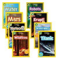 英文原版绘本 国家地理 National Geographic KIDS Readers 3阶8册儿童百科图书 6-7-8-9-10岁学习英语课外阅读扩展书籍