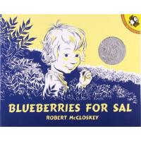 《莎莎摘浆果》(1949年绘本) Bluebrries for Sal (1949 Caldecott Honor B