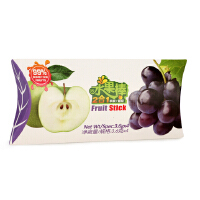 澳洲KIWIN水果棒天然果肉条含果汁苹果葡萄味儿童零食水果条进口