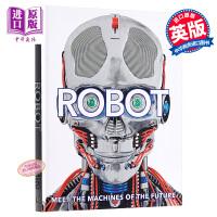 【中商原版】机器人 机器的未来 英文原版 DK-Robot: Meet the Machines of the Fut