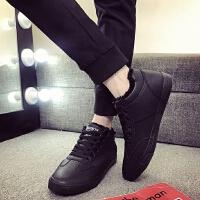 DAZED CONFUSED 潮牌冬天男鞋韩版潮流男士棉鞋冬季保暖加绒休闲鞋高帮鞋板鞋