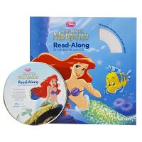 英文原版绘本 The Little Mermaid 美人鱼(Disney Read Along) 附CD 迪士尼童话动