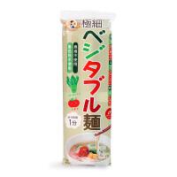 日本进口 妙谷菠菜西红柿味 细蔬菜面 婴幼儿宝宝营养辅食面条