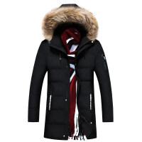 男士棉衣冬季中长款韩版加厚帅气冬装棉袄子潮流宽松大码外套