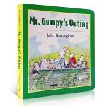 英文原版 Mr.Gumpy's Outing 和甘伯伯去游河 吴敏兰少儿绘本 纸板