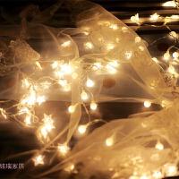 LED彩灯闪灯串灯满天星房间卧室装饰灯宿舍电池星星灯串USB小灯泡