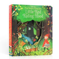 英文原版 正版 Peep Inside a Fairy Tale Little Red Riding Hood偷偷看里