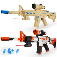仿真模型玩具电动连发可发射儿童户外玩具枪