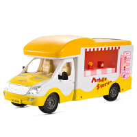 仿真电动汽车遥控自助售货车女孩玩具车模型