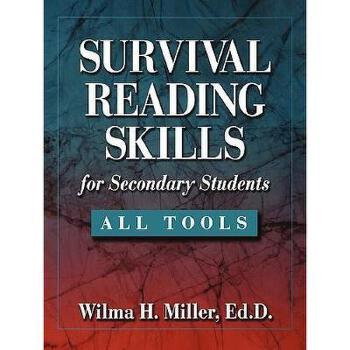 【预订】Survival Reading Skills For Secondary Students 美国库房发货,通常付款后3-5周到货!