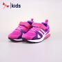 【1.21秒杀到手价:39.9元】红蜻蜓童鞋春秋款女童中童运动鞋跑步鞋
