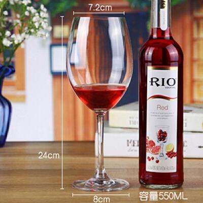 无铅水晶红酒杯葡萄酒杯红酒杯套装鸡尾酒杯香槟高脚杯酒具套装