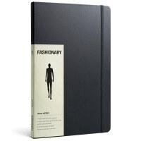 Fashionary Mens A4 男装A4 男士服装素描速写本 服装设计绘画本 笔记本 工具书籍