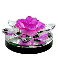 汽车香水创意玫瑰花香水座男女车载车用香水摆件内饰用品