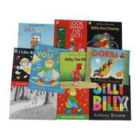 英文原版安东尼布朗绘本 Anthony Browne how do you feel等10本全套经典图画书 儿童阅读启