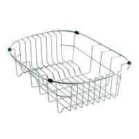 MOEN/摩恩 高档不锈钢沥水篮洗菜篮 54518 优质厨房水槽配件