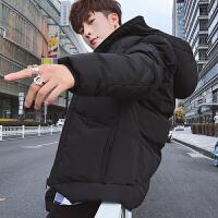男士外套秋冬季新款韩版潮流棉衣服男装冬装个性帅气潮牌夹克
