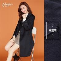 双面呢子羊毛呢大衣外套女2018冬季新款韩版显瘦时尚中长款呢子
