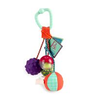 美国B.Toys Rattle Balls 响铃球 儿童手抓球摇铃玩具 3个月-2岁