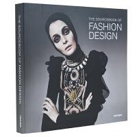 THE SOUCEBOOK OF FASHION DESIGN 时尚设计 服装设计绘画 女装服饰手绘教程 时装画技法 服