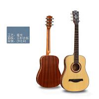 男女生便携电箱吉他初学入门34寸36寸吉他民谣吉他儿童旅行小六弦