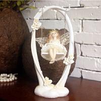 欧式田园家居装饰品花仙子摆件创意女孩闺蜜儿童生日礼物天使摆设