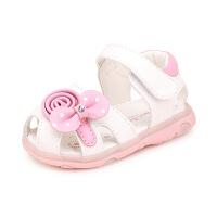 宝宝鞋子女夏婴儿学步公主鞋夏季女童凉鞋